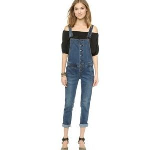 Free People Jeans - free people overalls